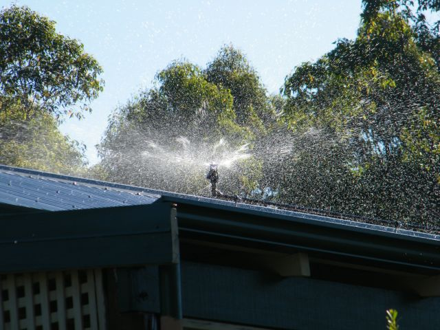 Rooftop Sprinkler Systems Small Farm Services Au