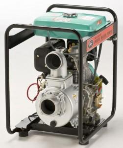 diesel 4 inch water