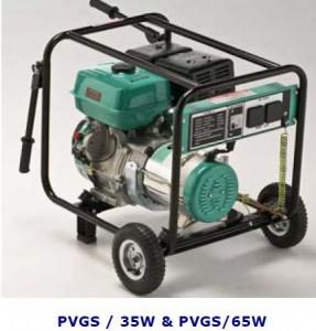 petrol generator set PVGS